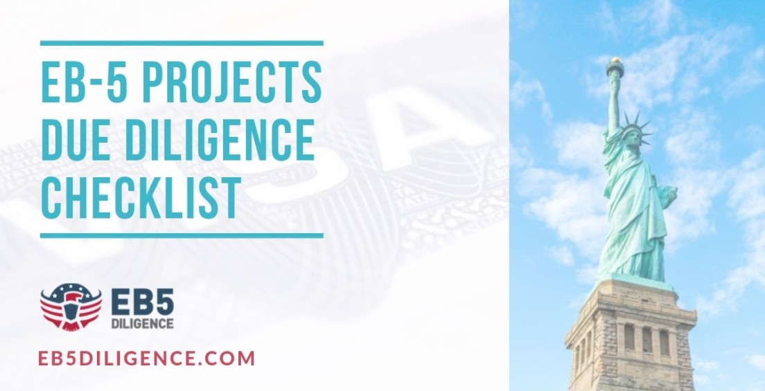 EB5 Projects Due Diligence Checklist
