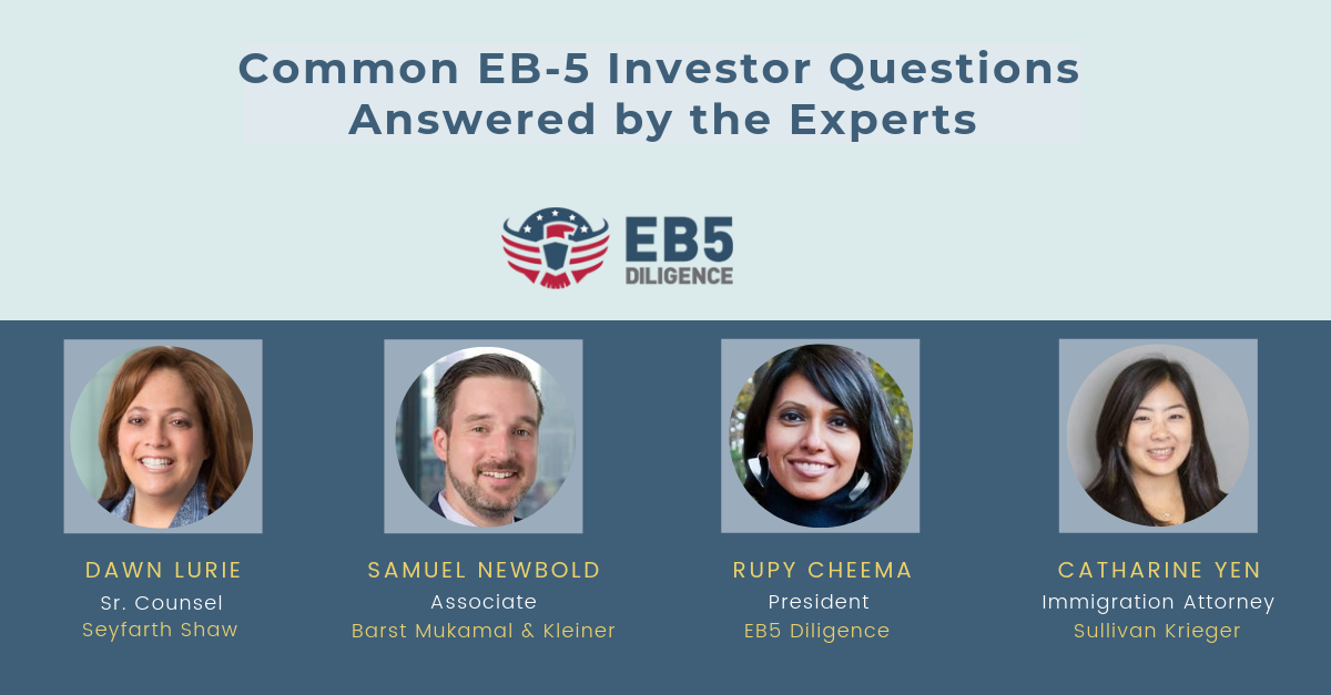 Common EB-5 Questions - Answered by experts