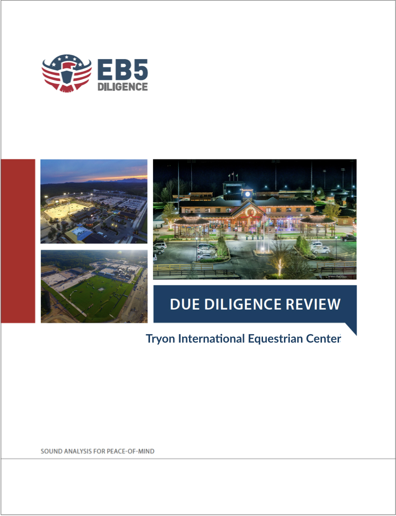 Eb5 Projects Due Diligence Report List Risk And Best In